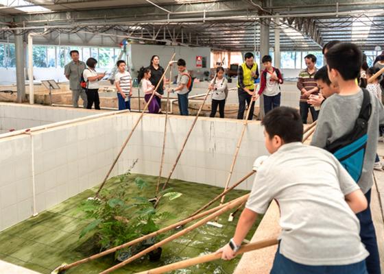 水生野生动物保护科普宣传月启动仪式暨广州市水生野生动物保护基地活动顺利开展